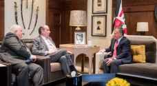 الملك يستقبل وزير الخارجية البرازيلي
