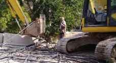 وزارة المياه تزيل 50 اعتداء على قناة الملك عبدالله