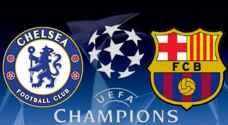 مفاجأتان في التشكيلة الرسمية لمواجهة برشلونة وتشيلسي