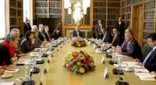 الملك يلتقي رئيستي مجلسي الشيوخ والنواب في هولندا