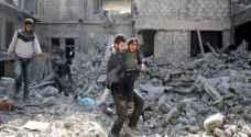 19 قتيلاً مدنياً في غارات روسية وسورية على الغوطة الشرقية