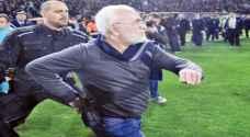 عقوبة مشددة لرئيس نادي هدد حكما بمسدس في اليونان