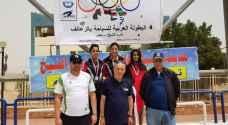 6 ميداليات برونزية للأردن في البطولة العربية لسباحة الزعانف