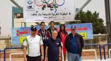 الأردن يعزز رصيده في البطولة العربية لسباحة الزعانف .. صور