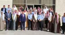 الحمود يدعو إلى إشراك المتقاعدين العسكريين بالعملية الأمنية