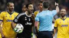 بوفون يهاجم حكم مباراة يوفنتوس وريال مدريد