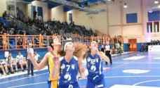 نادي شباب الفحيص يحتل المركز الثالث ببطولة غرب آسيا للسيدات لكرة السلة