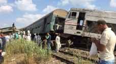 السجن لمتهمين في حادث تصادم قطاري الاسكندرية