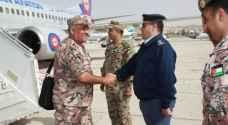 وصول القوات الأردنية المشاركة بتمرين درع الخليج 1 إلى المملكة