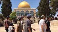 الاحتلال يواصل انتهاك حرمة المسجد الاقصى