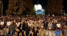 شاهد .. صلاة التراويح في المسجد الأقصى