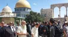 مستوطنون يقتحون المسجد الاقصى بأول ايام شهر رمضان