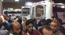 """بالفيديو والصور .. استقبال الدفعة الثانية من مصابي غزة في """"المدينة الطبية"""""""