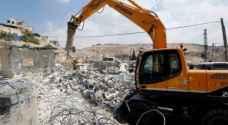 الاحتلال يخطر بهدم 20 منزلا شرق طوباس