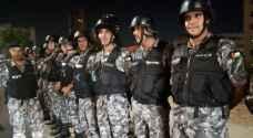 تعزيزات أمنية على الدوار الرابع في عمان