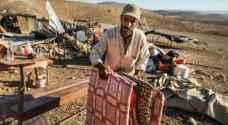 الاحتلال يطرد عائلات فلسطينية من الأغوار الشمالية