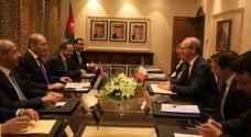 الصفدي يلتقي نائب رئيس الوزراء ووزير الخارجية والتجارة الايرلندي