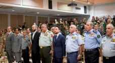 ولي العهد يرعى حفل تخريج دورات الدفاع الوطني