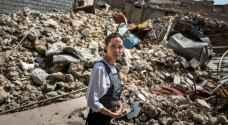 أنجلينا جولي تدعو المجتمع الدولي لدعم إعادة الإعمار في العراق