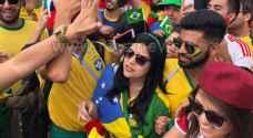 رؤيا ترصد بالصور أجواء مباراة البرازيل وكوستاريكا