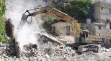 الأمانة تزيل 13 مبنى مهجور في عمّان