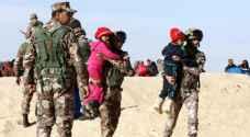 غنيمات: القوّات المسلّحة بدأت بإيصال المساعدات الإنسانيّة إلى الداخل السوري