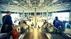 مطار الملكة علياء يسجل ارتفاعاً بحركة المسافرين بنسبة 5.6%