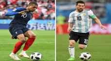 التشكيلة المتوقعة لمباراة منتخب الأرجنتين ومنتخب فرنسا