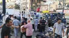 أهل السلط يهبون لمساعدة اشقائهم السوريين ..صور
