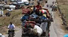 ارتفاع عدد النازحين في جنوب غرب سوريا إلى 270 ألفا