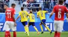 السويد تبلغ ربع نهائي المونديال وتنتظر إنجلترا أو كولومبيا