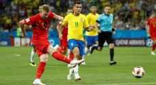 بلجيكا تقصي البرازيل وتعبر لمواجهة فرنسا في نصف نهائي المونديال