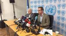 بیدرسن يشكر الأردن على موقفها لتقديم المساعدات الطبية اللاجئين السوريين