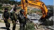 الاحتلال يهدم 4 منازل في أم الفحم