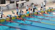 تحطيم 12 رقم فئات عمرية في بطولة الأردن الصيفية الأولى للسباحة.. صور