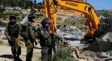 الاحتلال يهدم 6 منازل في الضفة وأراضي الـ 48