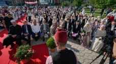 أكبر حفل زواج جماعي في البوسنة - فيديو وصور