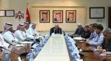 وزير الأشغال يلتقي بعثة وفد الصندوق السعودي للتنمية