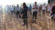 """الغطاس النصرات يواصل مشوار """" القوة والتحدي"""" لدخول """"جينيس"""" - صور"""