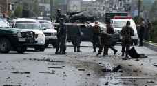 قتلى بهجوم انتحاري استهدف قافلة أمنية في كابول