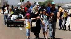 الأمن اللبناني يؤمن عودة نازحين سوريين من البقاع وشبعا