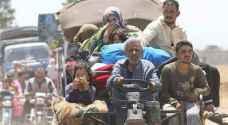 إجلاء أكثر من 10 آلاف شخص من جنوب غرب سورية