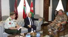 فريحات يستقبل مدير جامعة الشارقة ورئيس الاتحاد العربي لعلوم الفضاء