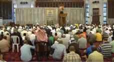 الأردنيون يؤدون صلاة العيد.. فيديو