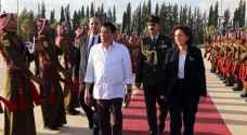 الرئيس الفلبيني يغادر المملكة