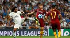 ريال مدريد يدك شباك روما بثلاثة أهداف في دوري الأبطال