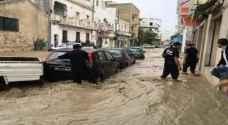 قتيل جراء فيضانات تسببت بها أمطار طوفانية في نابل بتونس