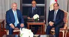 الرئيس المصري يلتقي رئيس وزراء الاحتلال في نيويورك