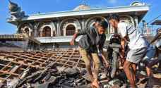 48 قتيلا ومئات الجرحى جراء الزلزال والتسونامي في إندونيسيا