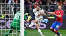 ريال مدريد يسقط أمام سسكا موسكو وروما يكتسح بلزن